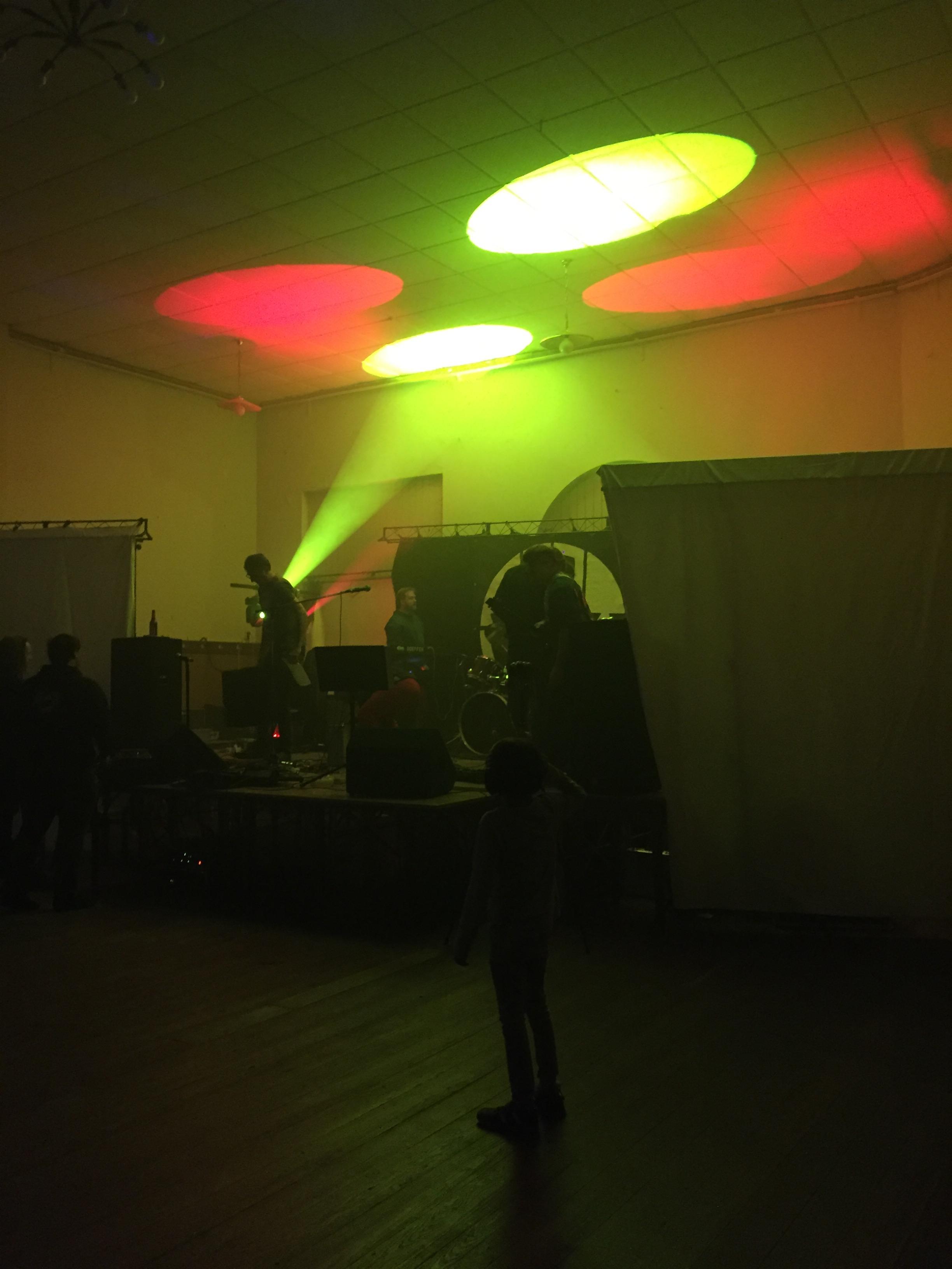 Rocknacht Bad Honnef - Lichttechnik Bühne - 05