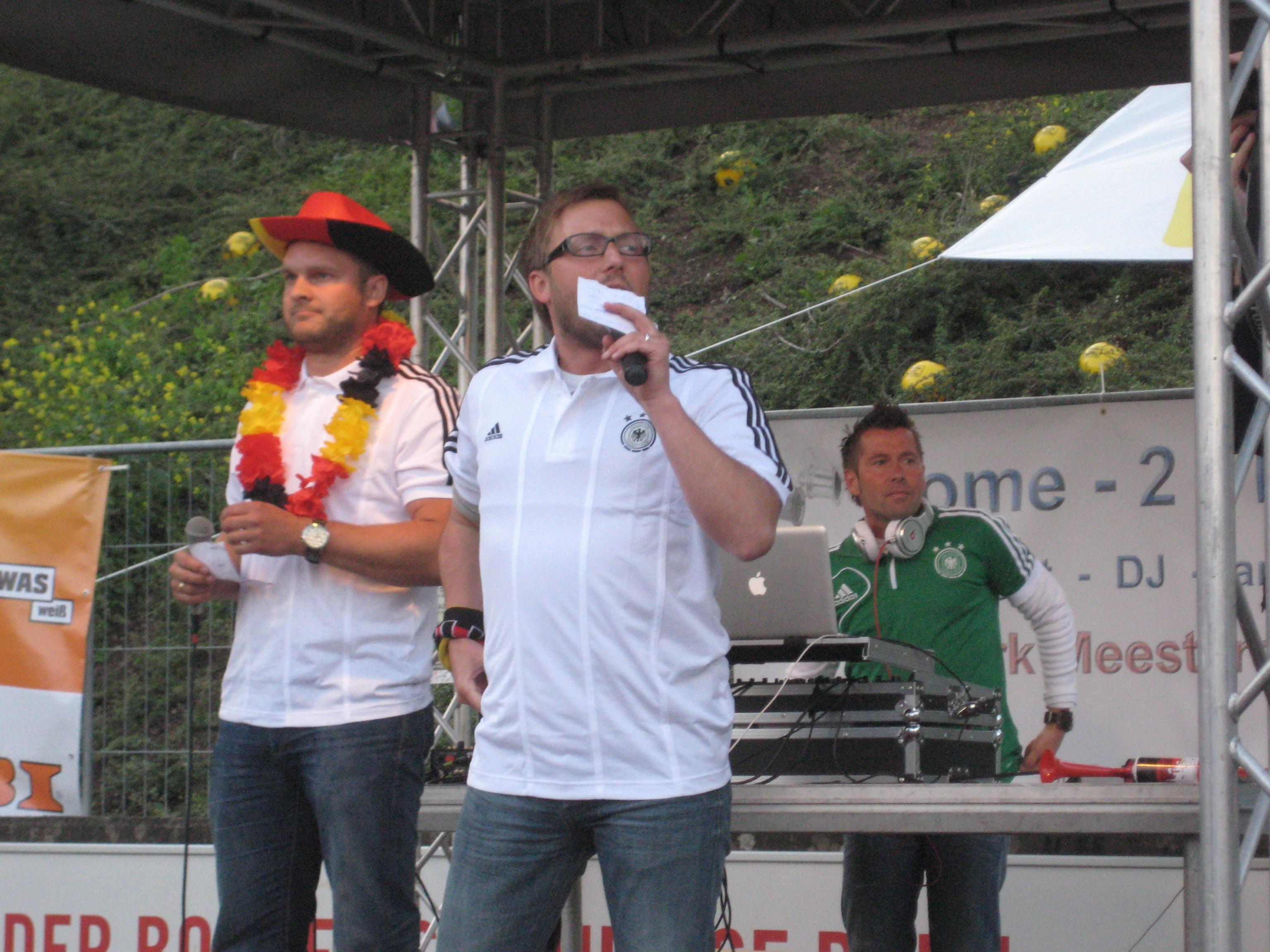 Sportpark Nord EM2012 - Volker, Sven, Dirk